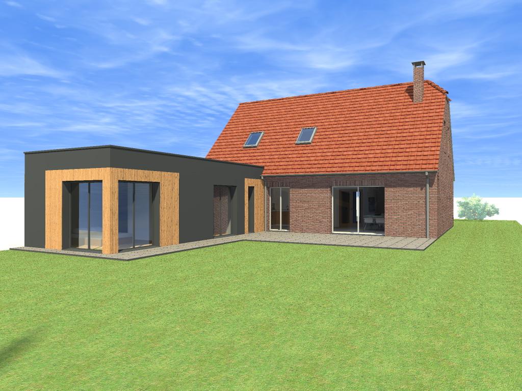 Cr ation d 39 une extension saint amand les eaux - Extension maison permis de construire ...