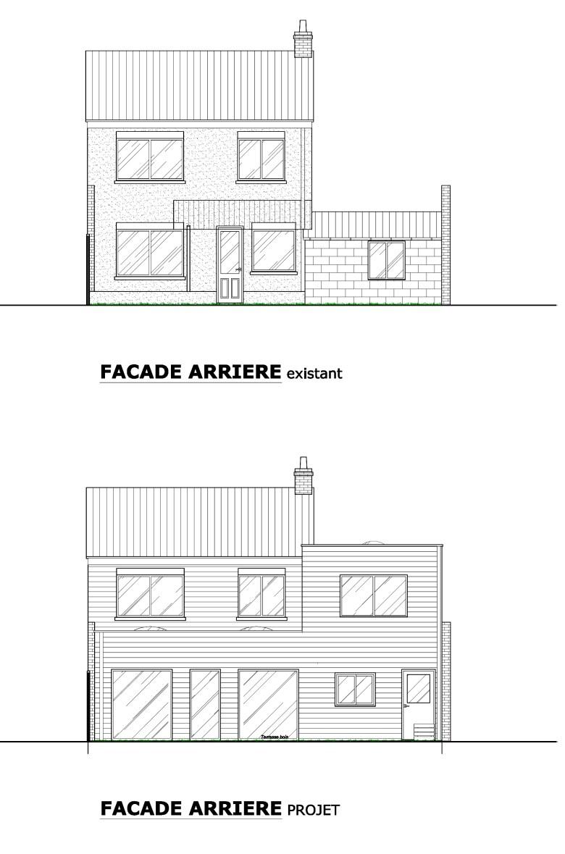 15.26 Extension maison permis de construire nord Valenciennes19