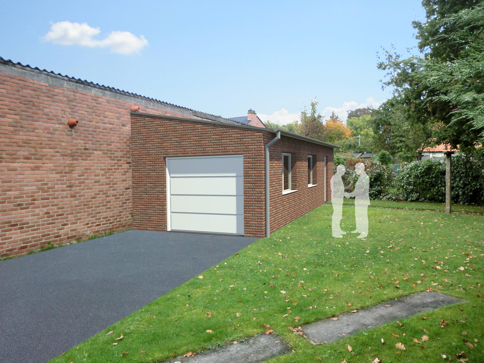 transformation d 39 un garage en chambre avec la construction d 39 un nouveau garage. Black Bedroom Furniture Sets. Home Design Ideas