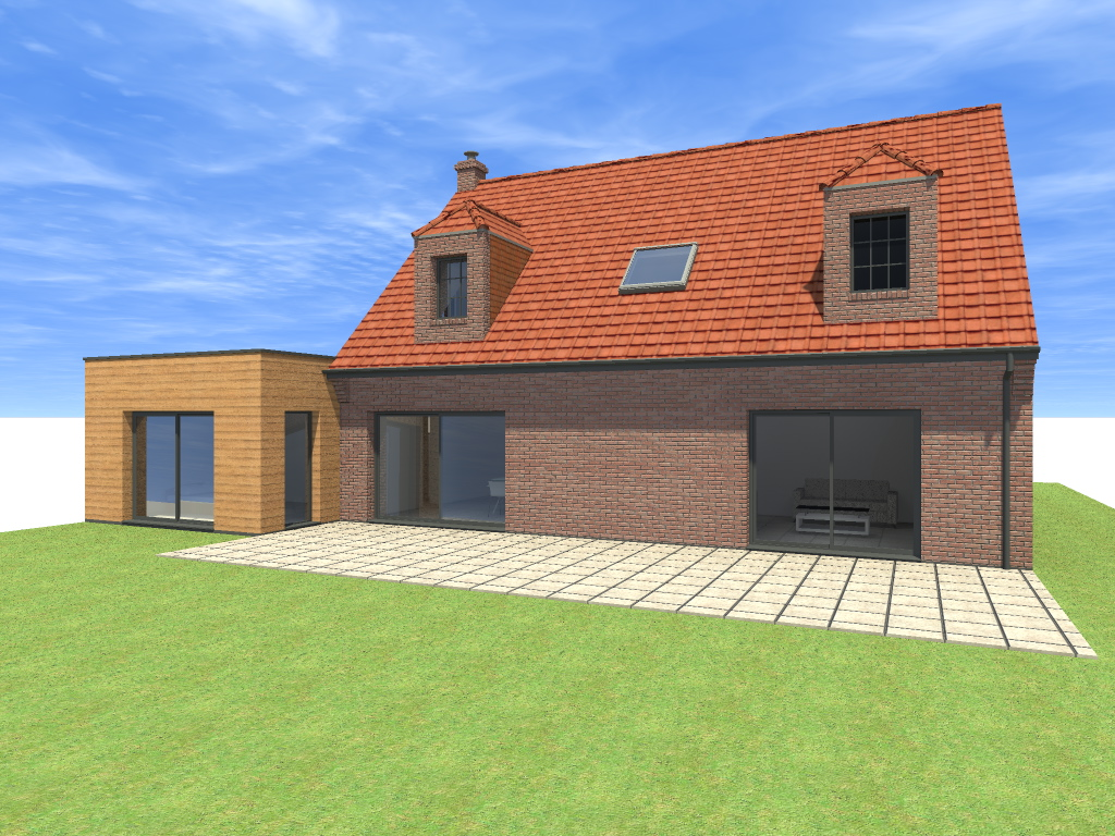 Extension D Une Maison Individuelle Famars Valenciennes