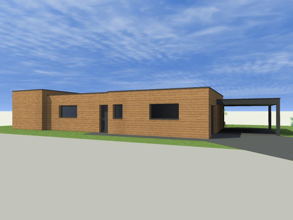 Construction d 39 une maison plain pied lys lez lannoy for Construction plain pied
