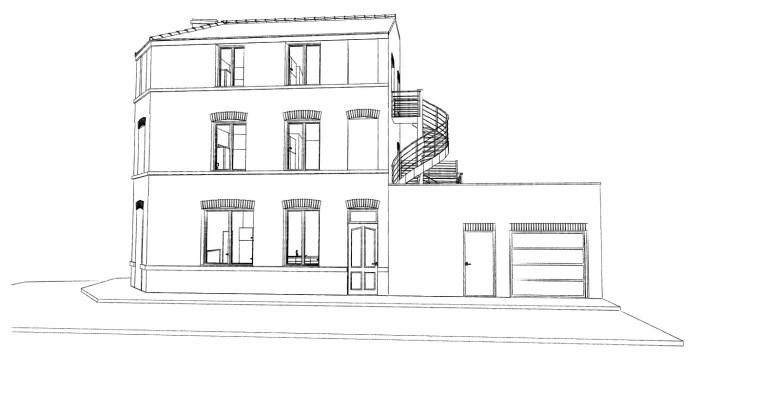 16.33 permis de construire division maison Lille15
