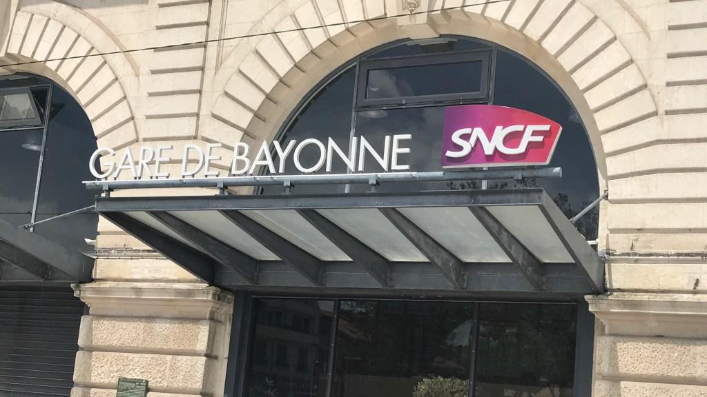 BAYONNE バイヨンヌ駅