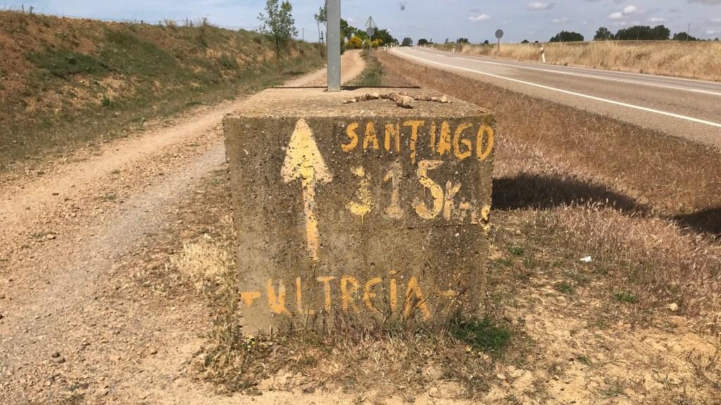 camino de santiago 315km