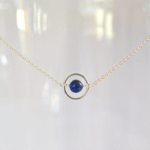 bijoux-pierre-argent-vrai-collier-funambule-lithotérapie-Lapis-lazuli-3