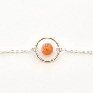 bijoux-pierre-argent-vrai-collier-funambule-lithotérapie-orange-pierre-de-soleil-1