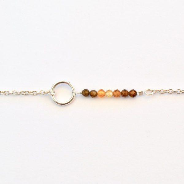 bijoux-pierre-argent-vrai-sautoir-lithothérapie-tourmaline-marron-2