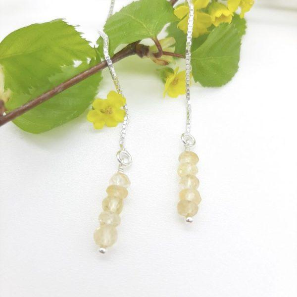 bloucle-orielle-pierres-bijoux-argent-cadeau-fete-mere-femme-etincelle-un-brins-citrine-jaune-2