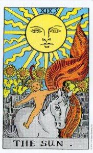 ウェイト版 タロットカード 太陽