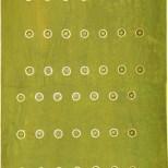 Innere Ordnung; Acryl auf Karton, 45,5x106 cm;