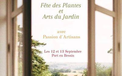La Fête des PlantesPépinièristes réputés & Artisans uniquesChâteau de la ChenevièrePort-en-Bessin (Calvados)12 et 13 septembre 2020