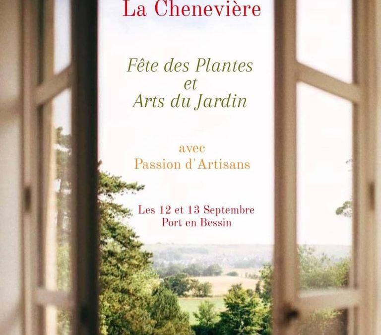 La Fête des Plantes au Château la Chenevière, les 12 et 13 septembre 2020