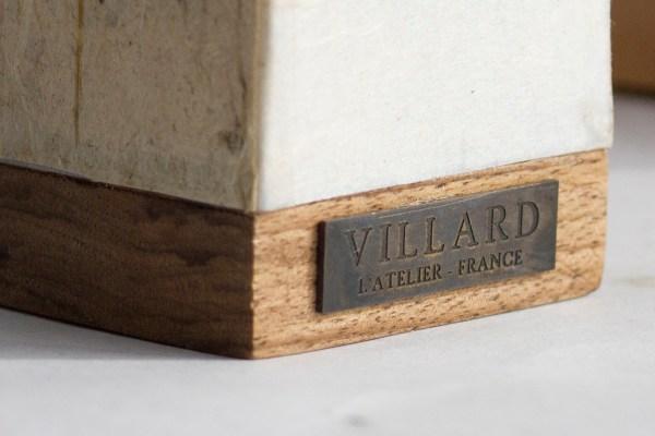 «Le P'tit Villard», photophore à bougie LED par l'Atelier Villard.