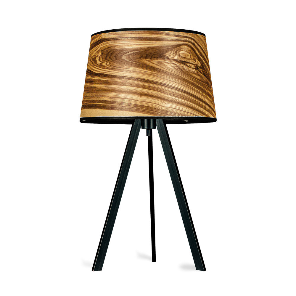 ATTICA - Table lamp stainless steel core ash