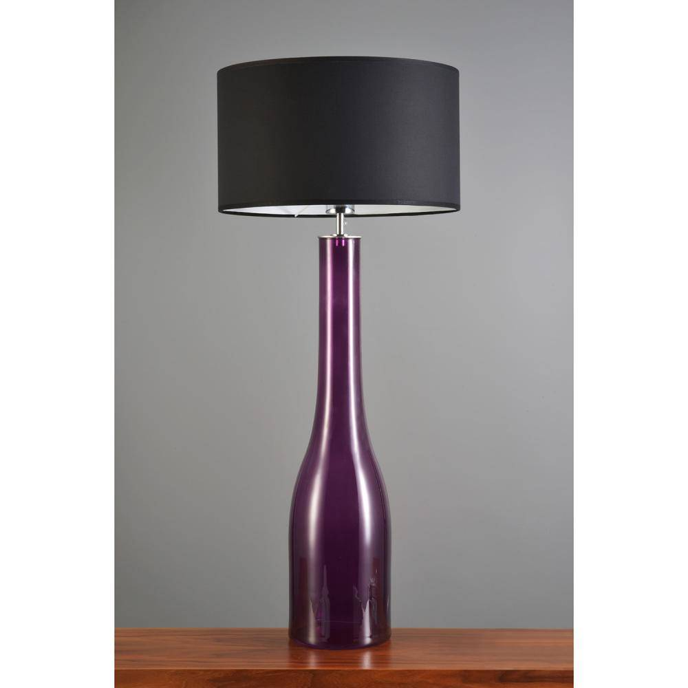 Table lamp Jeany in trendy amethyst