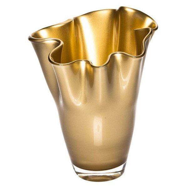 Signature Vase gold metallic CO-17-203LM