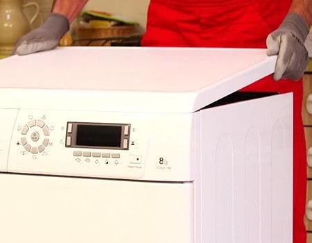 Comment remplacer la courroie d 39 un s che linge condensation - Seche linge dessus baignoire ...