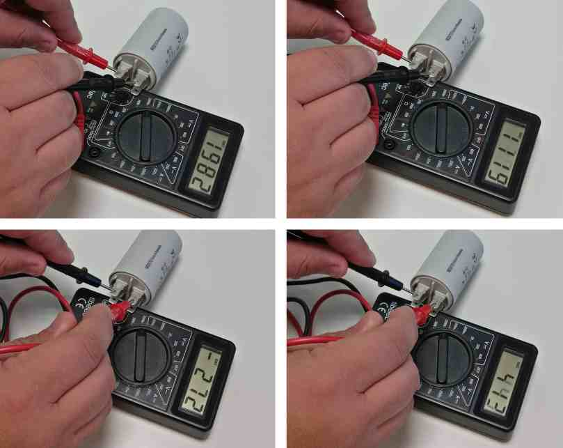 Comment tester le condensateur de mon appareil - Comment tester un condensateur de machine a laver ...
