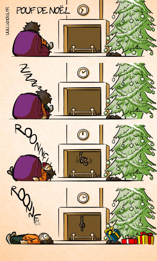 Pouf De Noël-p1 - auteur : iamo'i's