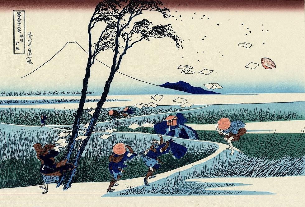 Hokusai Atelier 54