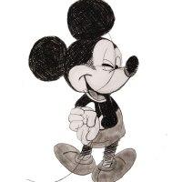 Croquis Mickey
