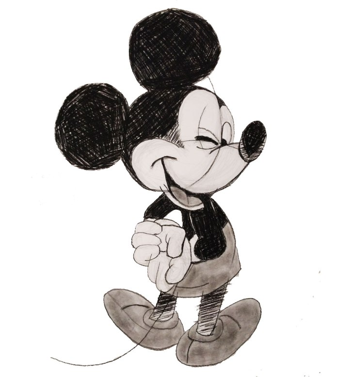Croquis Mickey Mouse