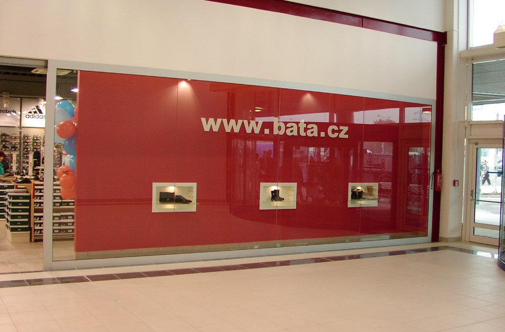Prodejny Baťa 2001