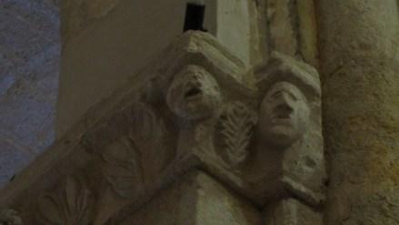 Volti umani, marcolfe, S.Francesco, Tarquinia, VT, Italia