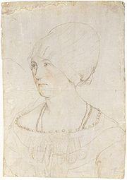 Hans Holbein silverpoint