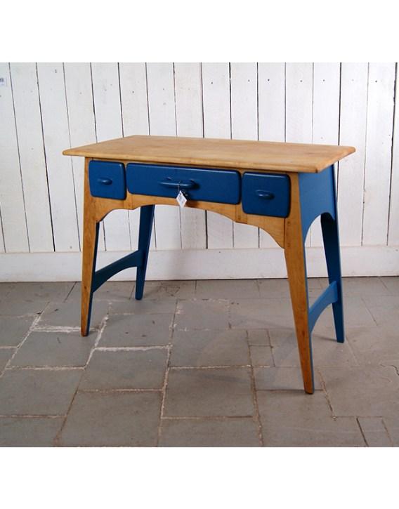 bureau-tiroir-bleu