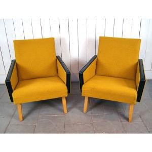 paire-fauteuil-moutarde-skai-noir-5