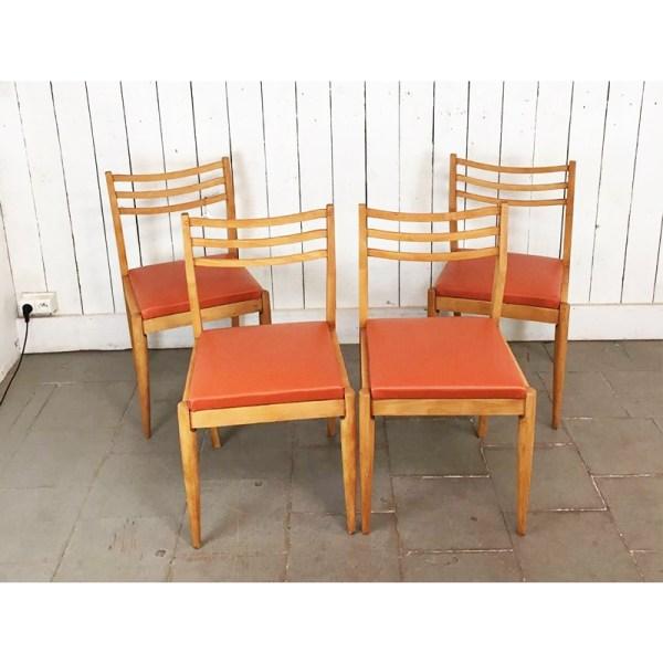 chaise-bois-clair-skai-orange-5