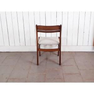 6-chaises-teack-tissu-clair-chiné-3