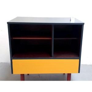 meuble-tiroir-jaune