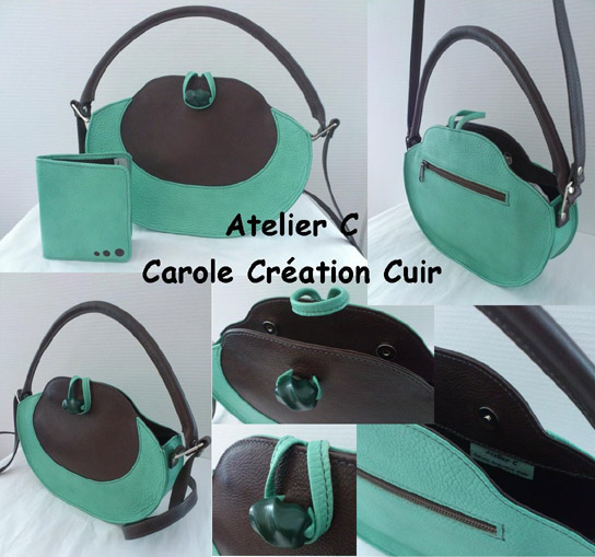 creation sac cuir sur mesure