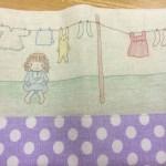 shiho*さん納品作品★ステッチ刺繍のブックカバー&bag