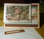 Victorian Style Angel Card