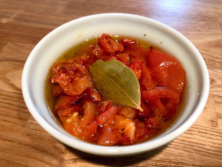 おつまみにもピッタリ、ドライトマトのオイル漬けの作り方 7