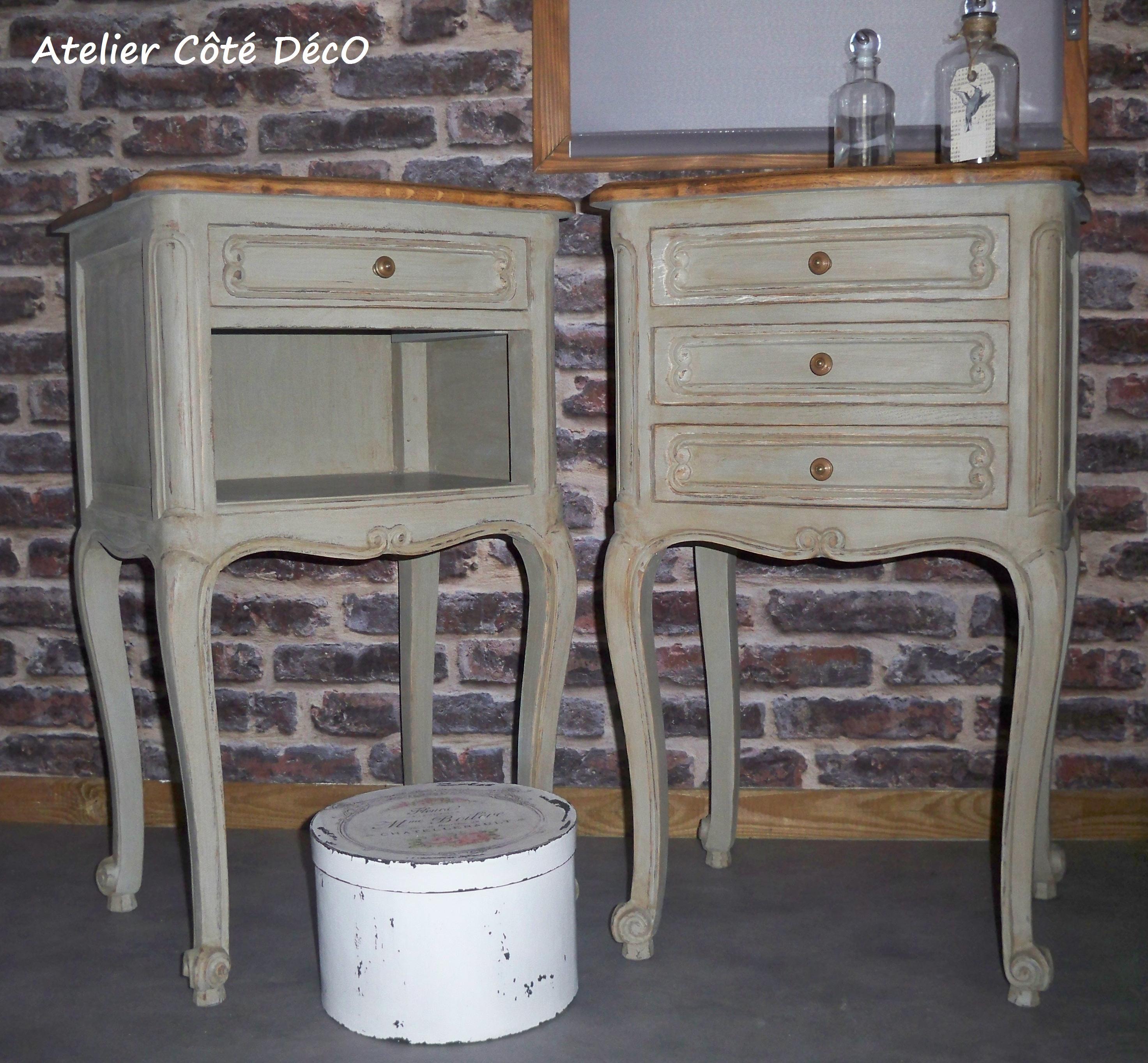 Table De Nuit Atelier Ct DcO