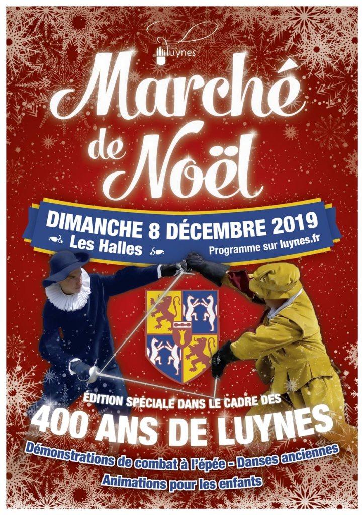 Marché de Noël de Luynes – Dimanche 8 décembre