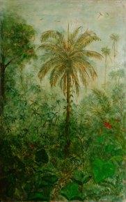 """""""Mata Tropical"""" (.90 x 1,80) - Técnica Mista"""