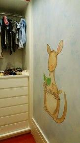 "Pintura ""Mamãe canguru"""