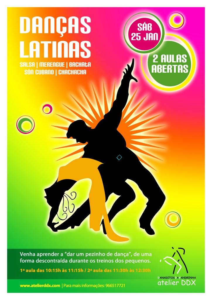 Aula aberta de Danças Latinas