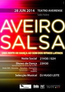 Aveiro Salsa - Cartaz de Junho 14'