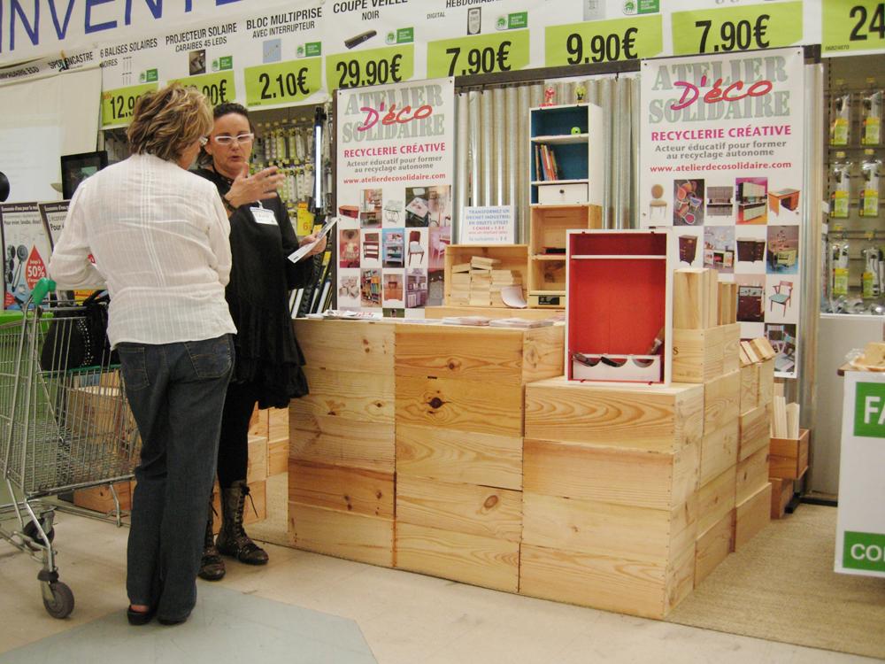 la pers v rance vertue du r emploi atelier d co solidaire. Black Bedroom Furniture Sets. Home Design Ideas