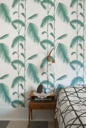 Papier peint feuilles de bambou