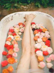 Bain de roses