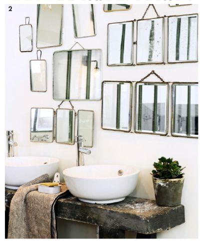 Miroirs de barbier