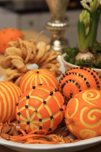 Orange et clou de girofles