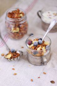 Muesli et fruits